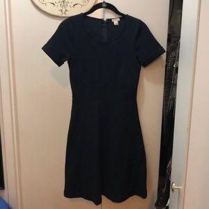 Navy Jcrew Dress Size 0